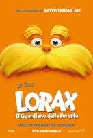 The Lorax - Italian Movie Poster (xs thumbnail)