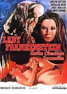 La figlia di Frankenstein - French Movie Poster (xs thumbnail)