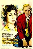 Un drôle de dimanche - Spanish Movie Poster (xs thumbnail)