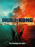 Godzilla vs. Kong - French Movie Poster (xs thumbnail)