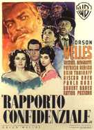 Mr. Arkadin - Italian Movie Poster (xs thumbnail)