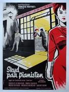 Tirez sur le pianiste - Danish Movie Poster (xs thumbnail)