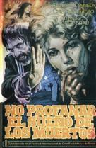 Non si deve profanare il sonno dei morti - Spanish VHS cover (xs thumbnail)