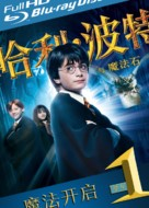 Harry Potter and the Sorcerer's Stone - Chinese Blu-Ray cover (xs thumbnail)