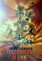 Red Scorpion - Spanish Movie Poster (xs thumbnail)
