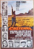 Cheyenne Autumn - Swedish Movie Poster (xs thumbnail)