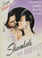 A Royal Scandal - Danish Movie Poster (xs thumbnail)