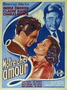 This Love of Ours - French Movie Poster (xs thumbnail)