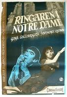 Notre-Dame de Paris - Swedish Movie Poster (xs thumbnail)