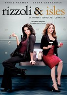 """Rizzoli & Isles"" - Spanish Movie Cover (xs thumbnail)"