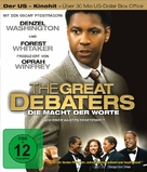 The Great Debaters - German Blu-Ray cover (xs thumbnail)