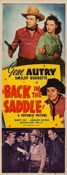 Back in the Saddle - Movie Poster (xs thumbnail)