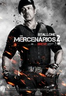 The Expendables 2 - Brazilian Movie Poster (xs thumbnail)