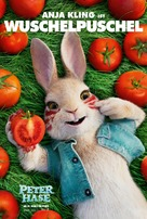 Peter Rabbit - German Movie Poster (xs thumbnail)