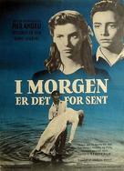 Domani è troppo tardi - Danish Movie Poster (xs thumbnail)