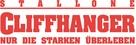 Cliffhanger - German Logo (xs thumbnail)