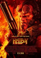 Hellboy - Vietnamese Movie Poster (xs thumbnail)
