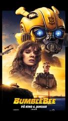 Bumblebee - Norwegian Movie Poster (xs thumbnail)