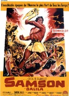 Samson and Delilah - French Movie Poster (xs thumbnail)