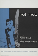 Het mes - Dutch Movie Poster (xs thumbnail)