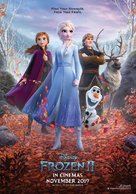 Frozen II - Indonesian Movie Poster (xs thumbnail)