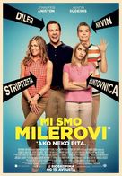 We're the Millers - Serbian Movie Poster (xs thumbnail)