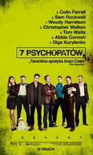 Seven Psychopaths - Polish Movie Poster (xs thumbnail)