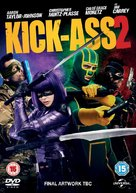 Kick-Ass 2 - British DVD movie cover (xs thumbnail)