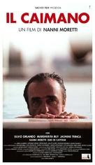 Il caimano - Italian Movie Poster (xs thumbnail)