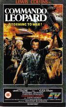 Kommando Leopard - British VHS cover (xs thumbnail)