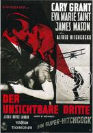 North by Northwest - German Movie Poster (xs thumbnail)
