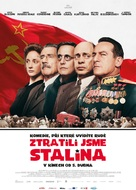 The Death of Stalin - Czech Movie Poster (xs thumbnail)