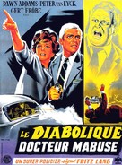 Die 1000 Augen des Dr. Mabuse - French Movie Poster (xs thumbnail)