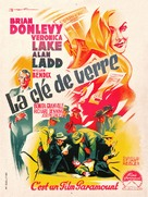The Glass Key - French Movie Poster (xs thumbnail)