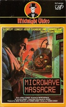 Microwave Massacre - VHS cover (xs thumbnail)