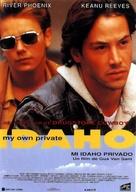 My Own Private Idaho - Spanish Movie Poster (xs thumbnail)