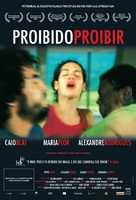 Proibido Proibir - Brazilian Movie Poster (xs thumbnail)