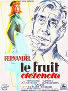 Le fruit défendu - French Movie Poster (xs thumbnail)