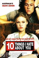 10 Things I Hate About You - Australian DVD movie cover (xs thumbnail)