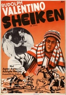 The Sheik - Swedish Movie Poster (xs thumbnail)