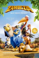 Zambezia - Danish Movie Poster (xs thumbnail)