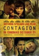 Contagion - British Movie Poster (xs thumbnail)