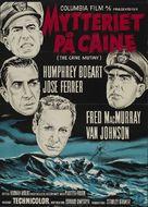 The Caine Mutiny - Danish Movie Poster (xs thumbnail)