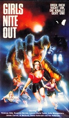 Girls Nite Out - German VHS cover (xs thumbnail)