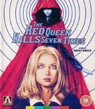 La dama rossa uccide sette volte - British Blu-Ray cover (xs thumbnail)