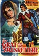 Visconte di Bragelonne, Il - German Movie Poster (xs thumbnail)