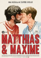 Matthias & Maxime - Spanish Movie Poster (xs thumbnail)