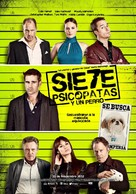 Seven Psychopaths - Mexican Movie Poster (xs thumbnail)