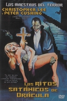 The Satanic Rites of Dracula - Spanish DVD movie cover (xs thumbnail)