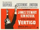 Vertigo - British Movie Poster (xs thumbnail)